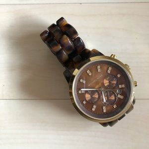 Micheal Kors Tortoise Watch